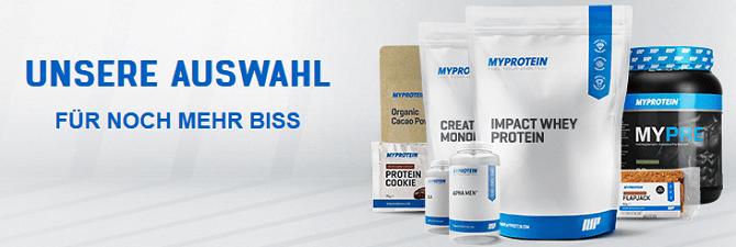 MyProtein Produkte